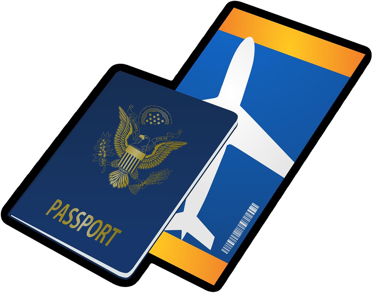 דרכון וכרטיס